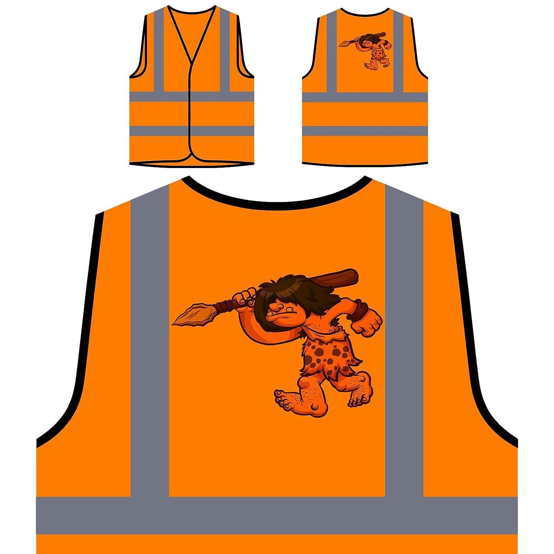 chasseur homme des cavernes Veste de protection orange personnalisée à haute visibilité u532vo INNOGLEN