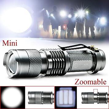 Neu 7W Cree Q5 LED 1200 LM Mini Taschenlampe 14500 AA Lampe Wasser