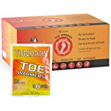 Toe Foot Hot Warmers - 40 Count, Adhesive Long Lasting Air Activated Disposable Natural Heating Pads for Shoes, Boots…