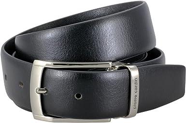 Cintur/ón de cuero para hombre//cintur/ón para hombre Pierre Cardin