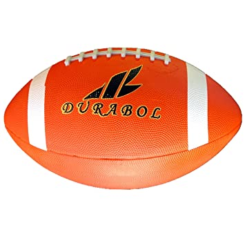 Durabol Balón De Rugby American Football (Naranja): Amazon.es ...