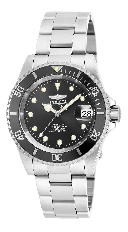 Amazon.com: Invicta Men's 17044 Pro Diver Analog Display Japanese Automatic  Silver Watch: Invicta: Watches