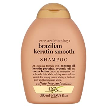 Ogx Brazilian Keratin Therapy Shampoo 1er Pack 1 X 385 Ml Amazon