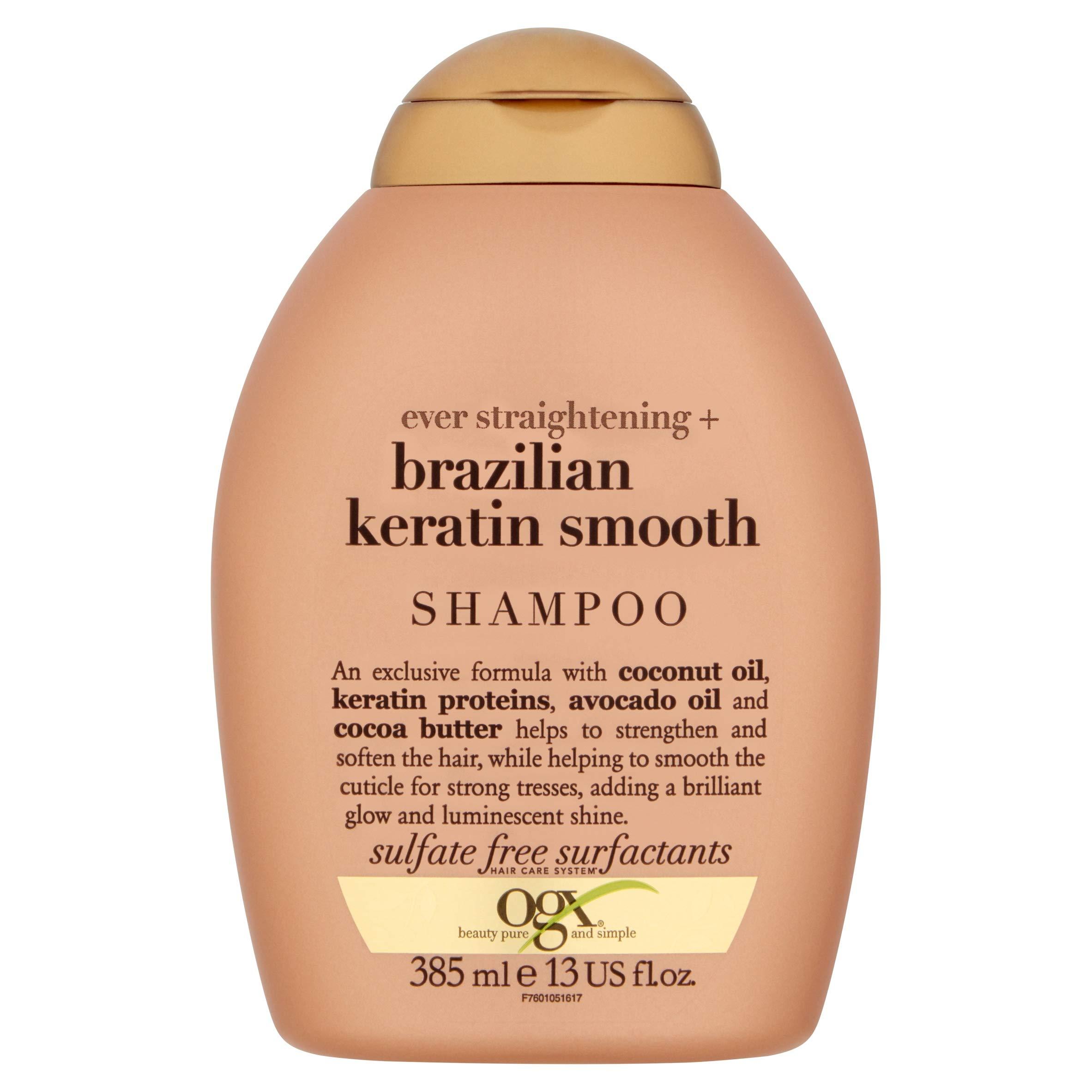 OGX Champú Keratina Brasileña - 385 ml product image