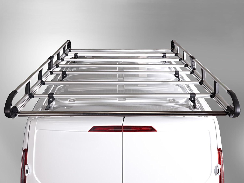 SWB 2013 on Van Guard ULTI Rack 5 Bar Aluminium Roof Rack for Ford Transit Connect
