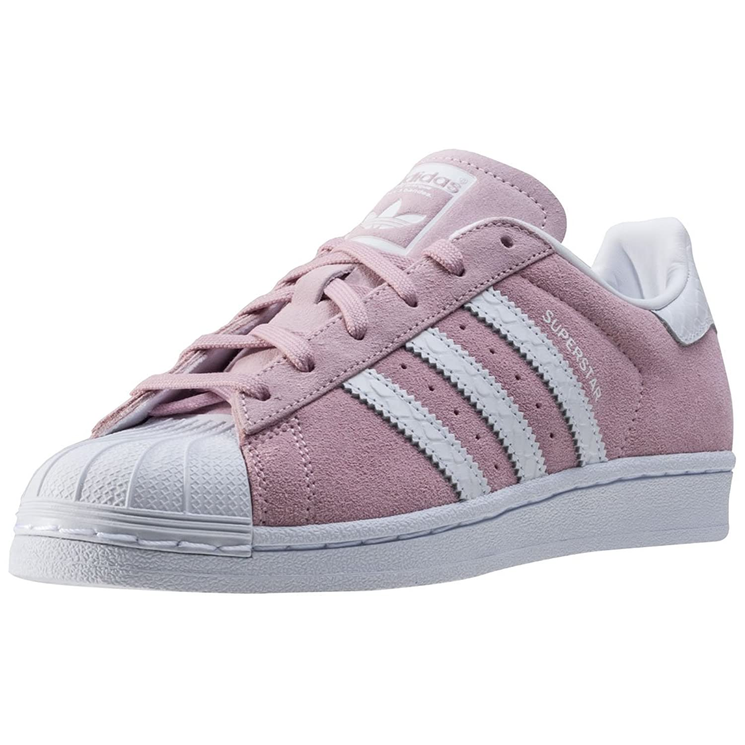 Superstars Adidas Damen Silber
