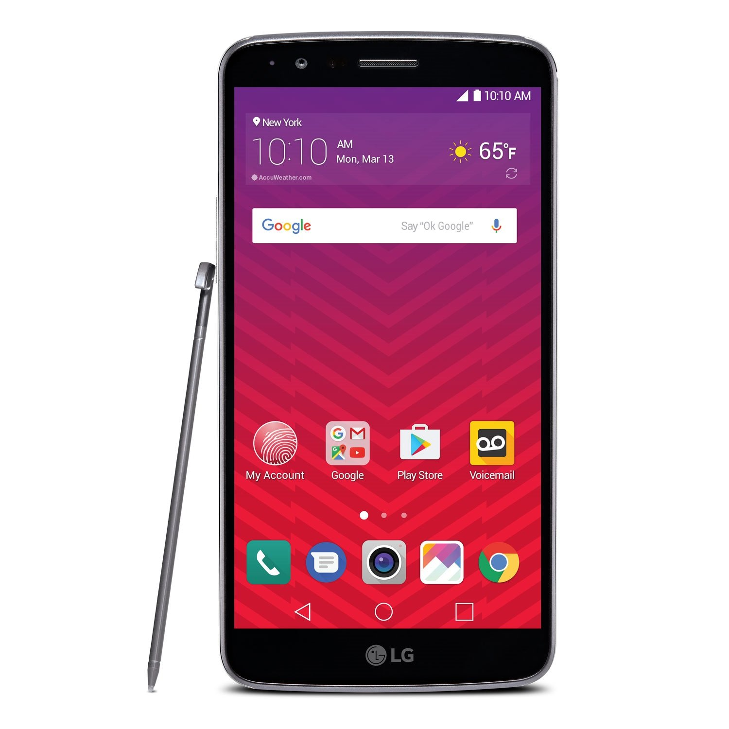 LG (LGLS777ABB) Stylo 3 - Prepaid - Carrier Locked - Boost Mobile