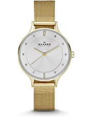 Skagen Anita Gold-Tone Stainless Steel Watch SKW2150