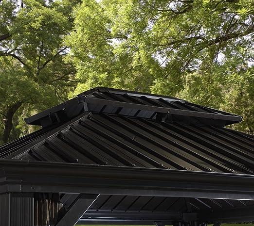 Aluminio Carpa Pabellón Gazebo Messina 12 x 20//363 X 598 cm (BxH)//Verano de Carpa y cenador con Hard de Top techo de sojag: Amazon.es: Jardín