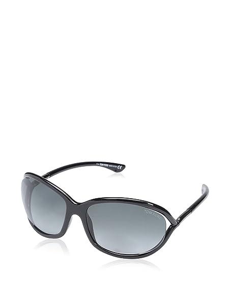 db7b44f66d71 Tom Ford FT0008 01B 61mm Sunglasses - Size  61--16--120  Amazon.co.uk   Clothing