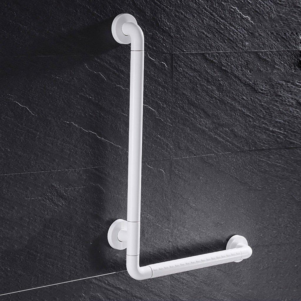 バスルーム手すりステンレス鋼高齢者、障害者バリアフリースキッドレールバスタブ、シャワー、トイレ、壁掛け (色 : 白, サイズ さいず : 40cm-60cm) B07D9XQ2F8 40cm-60cm|白 白 40cm60cm