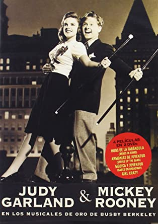 Judy Garland & Mickey Rooney - 4 Peliculas En 2 Dvd: Babes In Arms (