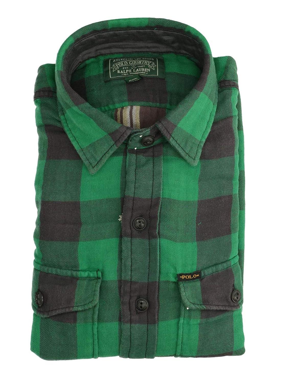 Ralph Lauren Mod. 710765888 Camisa Tartán Sarga Hombre Verde S ...