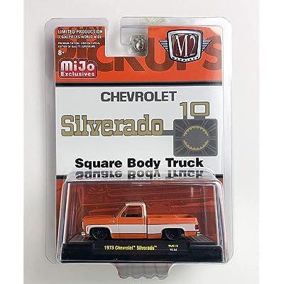 M2 Machines 1973 '73 Chevy Silverado Pickup Square Body DIECAST 2020: Toys & Games