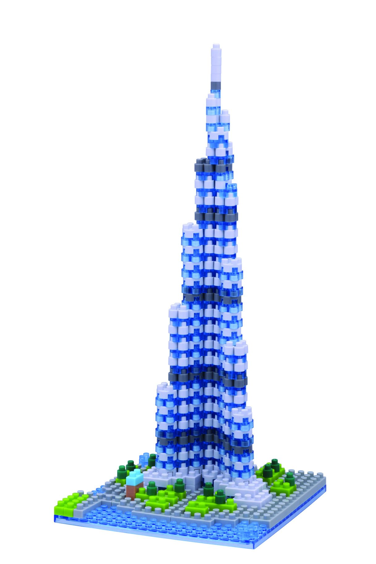 Nanoblock Khalifa Tower Building Kit