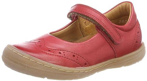 Froddo Children Ballerina G3140069-1, Merceditas para Niñas, Rojo (Red I01), 27 EU