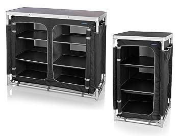 Outdoor Küchenschränke : 2er set robuster stabiler campingschrank faltbar outdoor