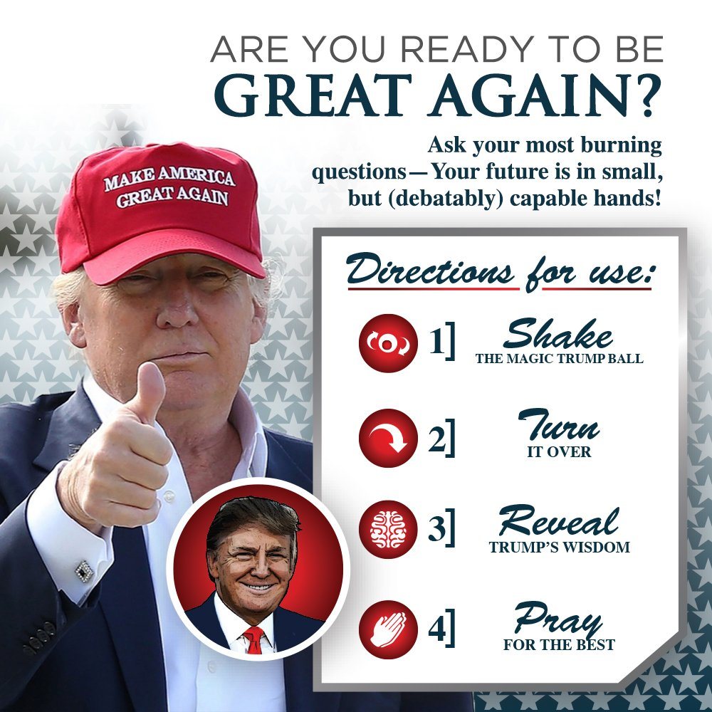 Amazon Kickfire Classics Magic Trump Ball Classic Magic 8