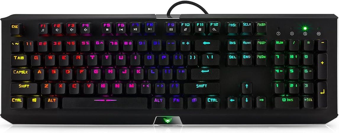 Airfox GMK-II RGB LED Teclado mecánico para juegos ...