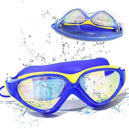 548ae54b0bc Amazon.com   Large Frame Swim Goggles