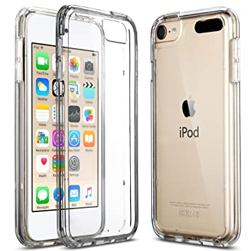 best service ae728 ef4ae DN-Alive iPod Touch Case, iPod Touch 5 Case, iPod Touch 6 Case, iPod Touch  7 Generation Clear Case Ultra Thin Transparent Silicone Gel Cover