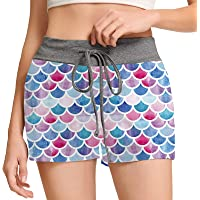 RAISEVERN Women's Lounge Pajamas Shorts Casual Yoga Sleepwear Pyjamas Short