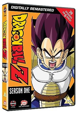 amazon com dragon ball z complete season one episodes 1 to 39