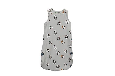Baby Saco de dormir 100% de algodón bio GOTS Saco de dormir sin mangas 2.5