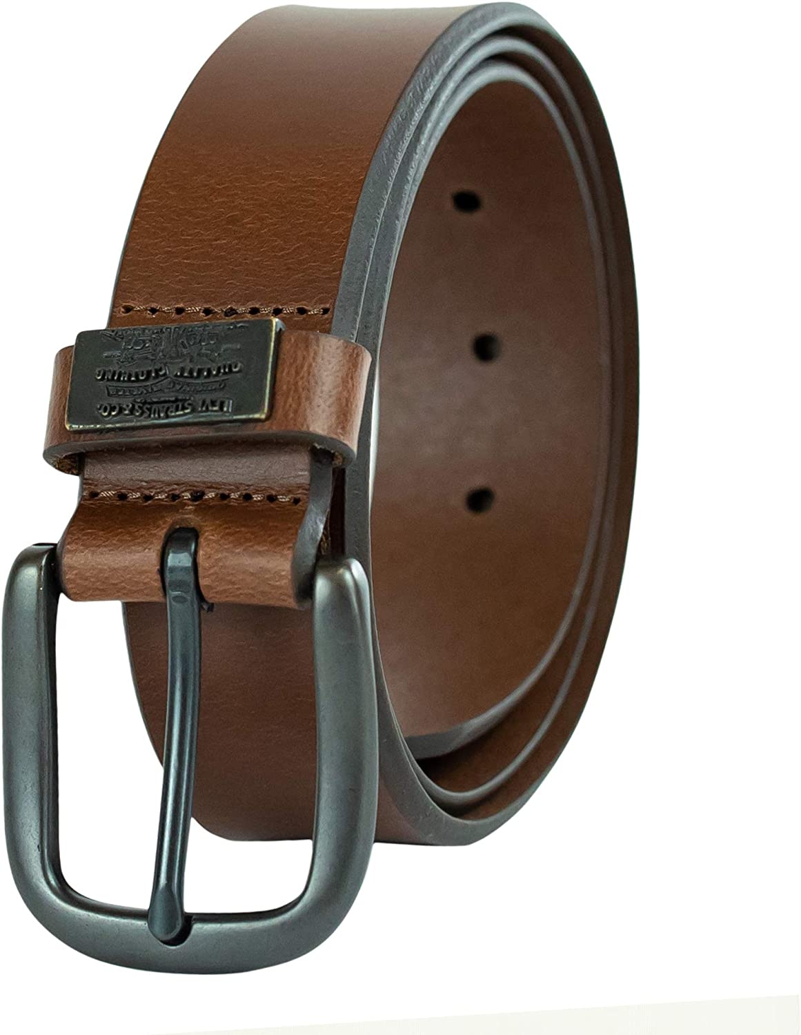 Levis Mens Casual Leather Belt
