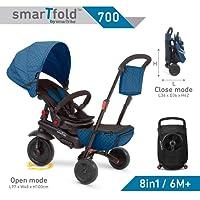 Smartrike 8-in-1 Folding Trike 700 Series, Blue