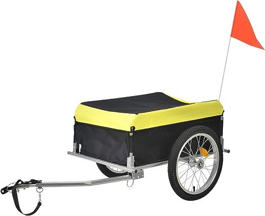 pro.tec] Remolque de Bicicleta para el Transporte de Equipaje y ...