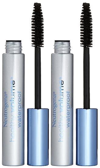 Neutrogena Cosmetics Healthy Volume Waterproof Mascara - Black/Brown (08) - 2 pk