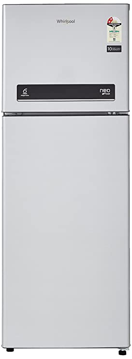Whirlpool 265 L 2 Star   2019   Frost Free Double Door Refrigerator NEO DF278 PRM, Galaxy Steel  Refrigerators