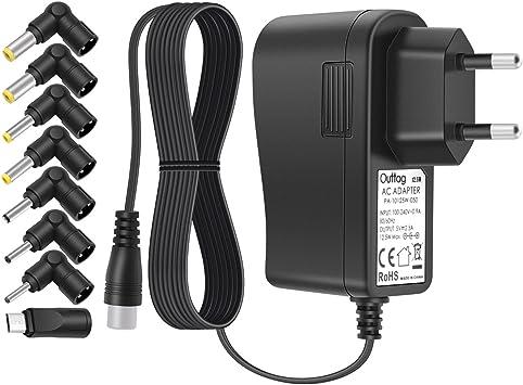 Outtag Cargador Universal 5V 2a 2.5a EU Cable alimentación ...