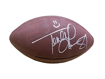 631116bd4 Image Unavailable. Image not available for. Color  Terrell Owens Signed  Ball - Super Grip - JSA Certified - Autographed Footballs