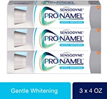 Sensodyne Pronamel Gentle Whitening, Sensitive Toothpaste, 4 oz (Pack of 3)