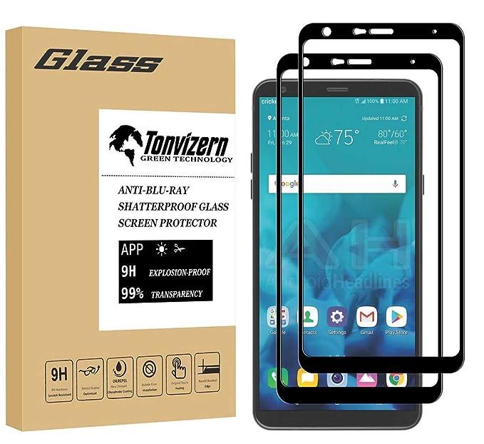 Amazon.com: [2 Pack] tonvizern para LG Stylo 4 Protector de ...
