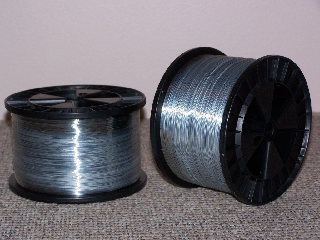 #25 Round Stitching Wires, 5 lb spools