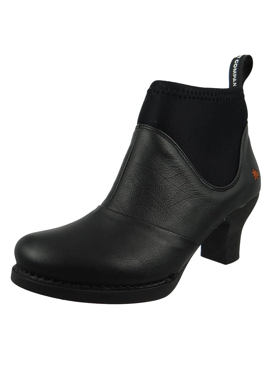 Art Damenschuhe Harlem Schwarz Niedrig Stiefel 38