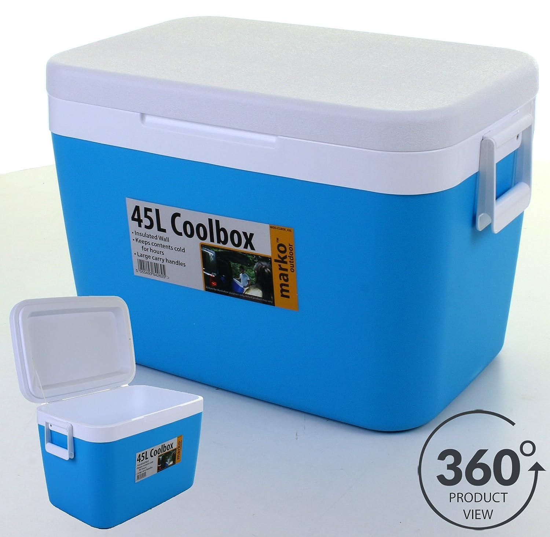 45L nevera portátil Coolbox isotérmica hielo comida bebidas viaje ...