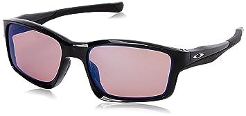Oakley Unisex Chainlink Rechteckig Sonnenbrille, Polished Black/G3 Iridium (S2)