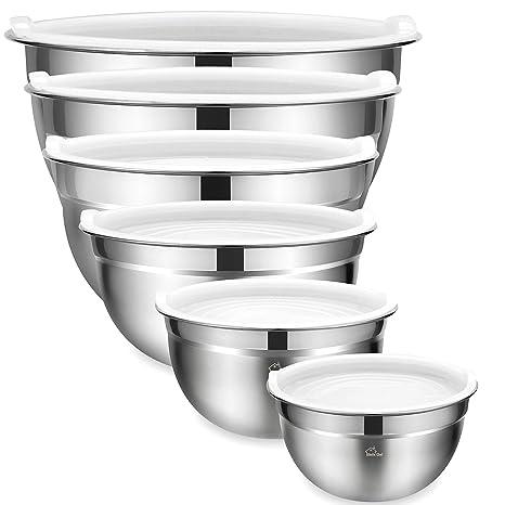 Amazon.com: Umite Chef - Juego de 6 cuencos para mezclar ...