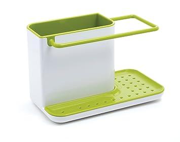 joseph joseph 85021 sink caddy kitchen sink organizer holder for dish soap sponge brush holder drains. Interior Design Ideas. Home Design Ideas