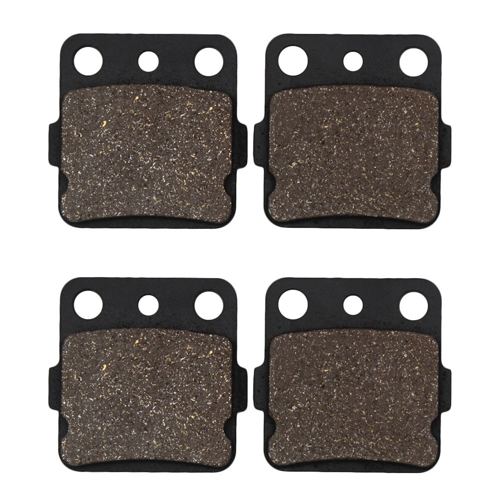 2007-2015 All Models Cyleto Front Brake Pads for Honda TRX420 TRX420FE TRX420FA TRX420FM TRX420FPA TRX420TE TRX420TM Fourtrax Rancher 420 2x4 4x4