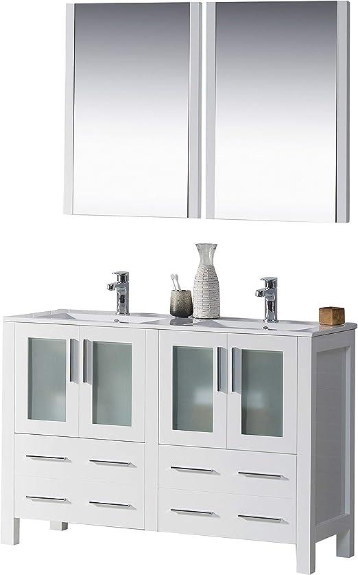 Amazon Com Blossom Sydney 48 Inches Double Bathroom Vanity