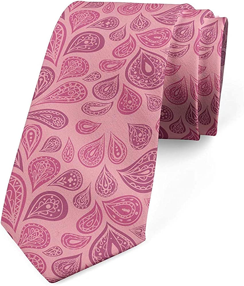 Mathillda Corbata para hombres, manchas inspiradas en Paisley ...
