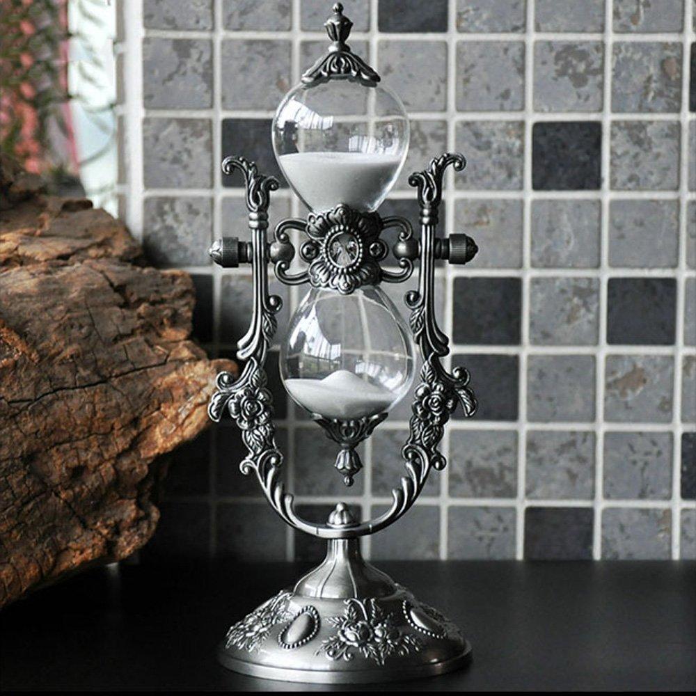 LY-hourglass Timer clessidra in metallo 15/30 minuti decorazioni creative per la decorazione domestica per inviare regali da fidanzata per uomo
