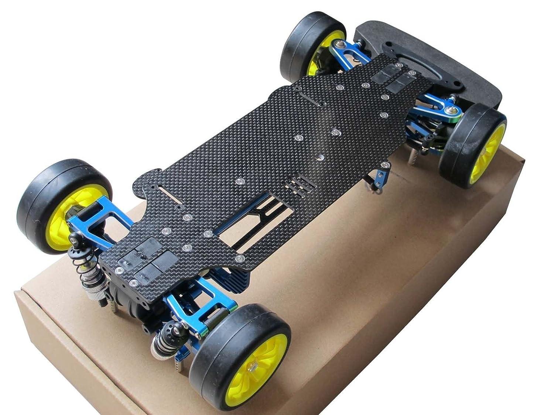 Amazon.com: Hobbypower 1/10 Alloy Carbon TT01 TT01E Shaft Drive 4WD ...