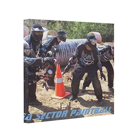 Amazon.com: wonbye Canvas Picture Frames Paintball Team ...