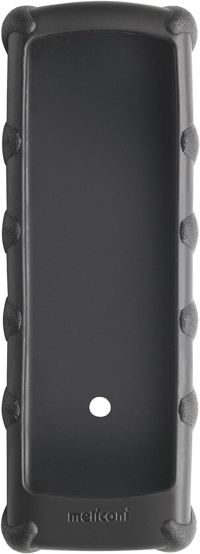 Meliconi 461003 - Funda para mando a distancia, (tamaño mediano 50-55 mm / 160-195 mm), color negro